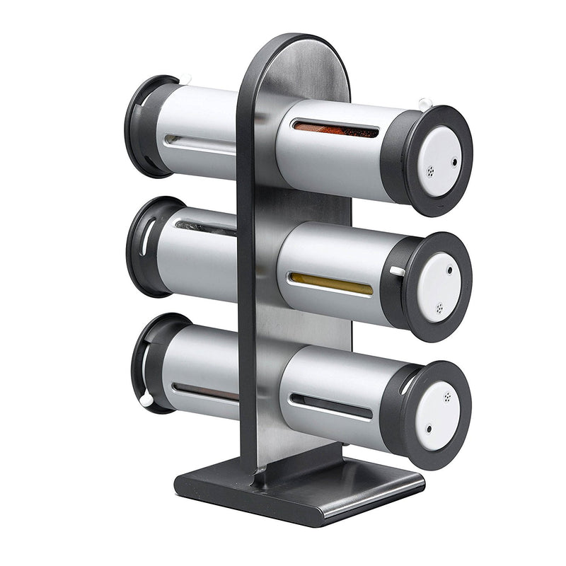 ZevrO Magnetic 6 Canisters Spice Stand