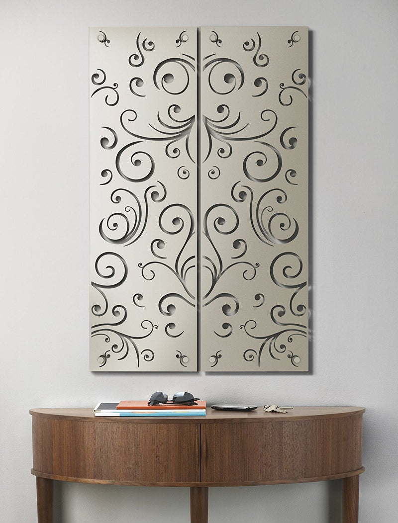 Umbra Damask Wall Decor Tile