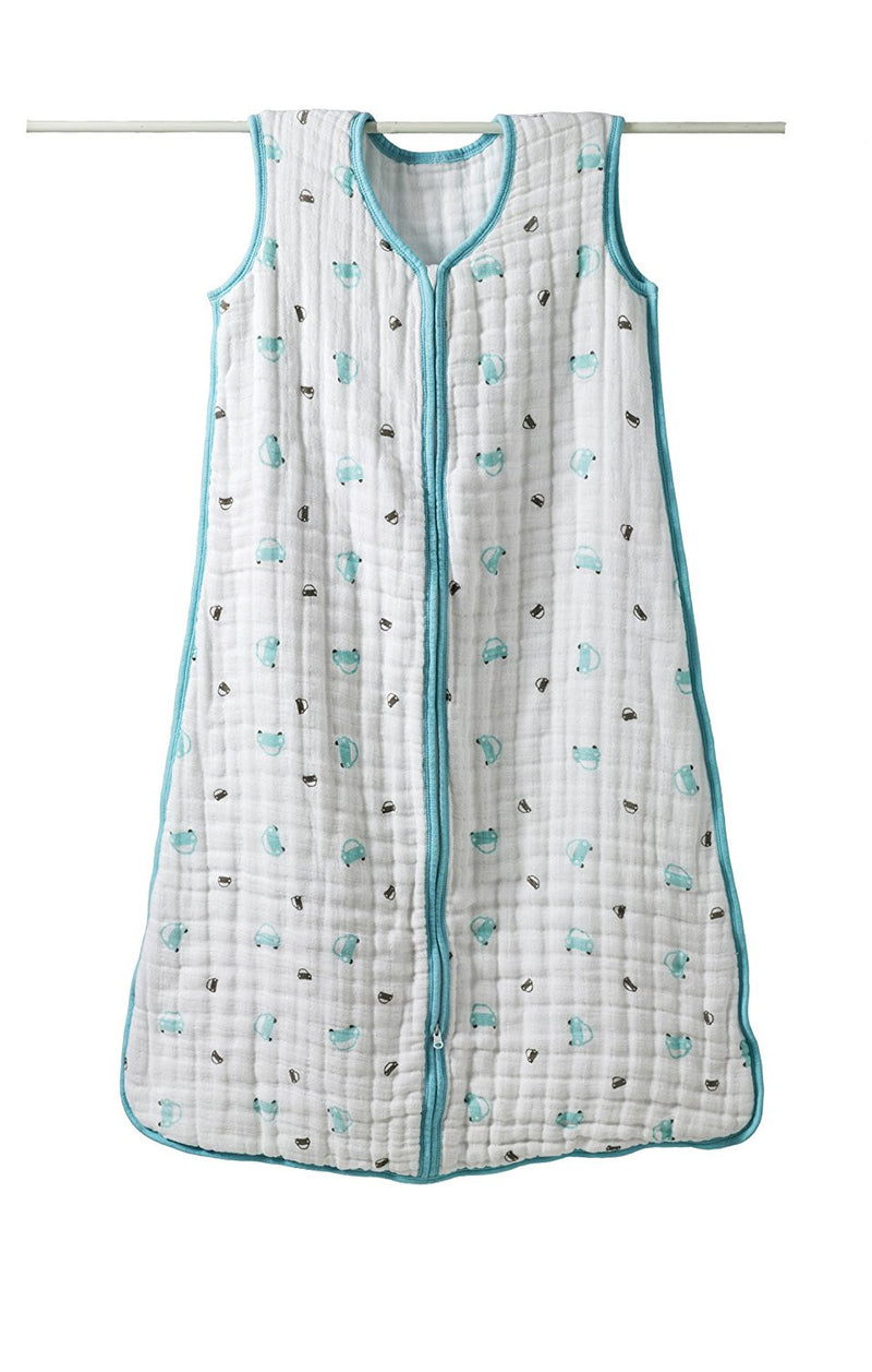 Aden + Anais Cozy Muslin Sleeping Bag - Little Man Cars