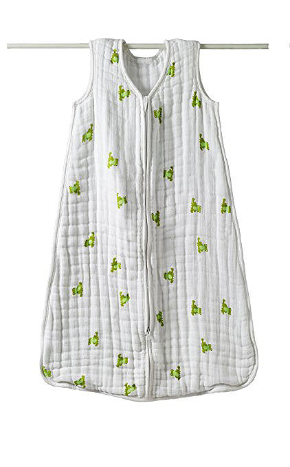 Aden + Anais Cozy Muslin Sleeping Bag - Mod About Baby, Frog
