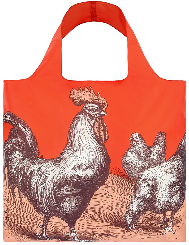 LOQI FARM Rooster Bag