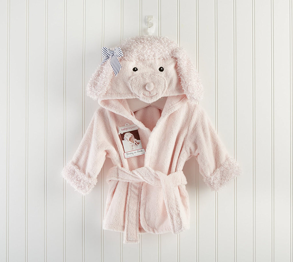 Baby Aspen Poodle Hooded Spa Robe