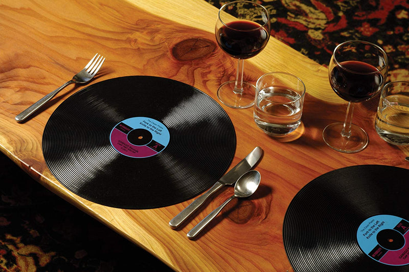 Gama-Go EA1219 Record Placemats, Multi-Color