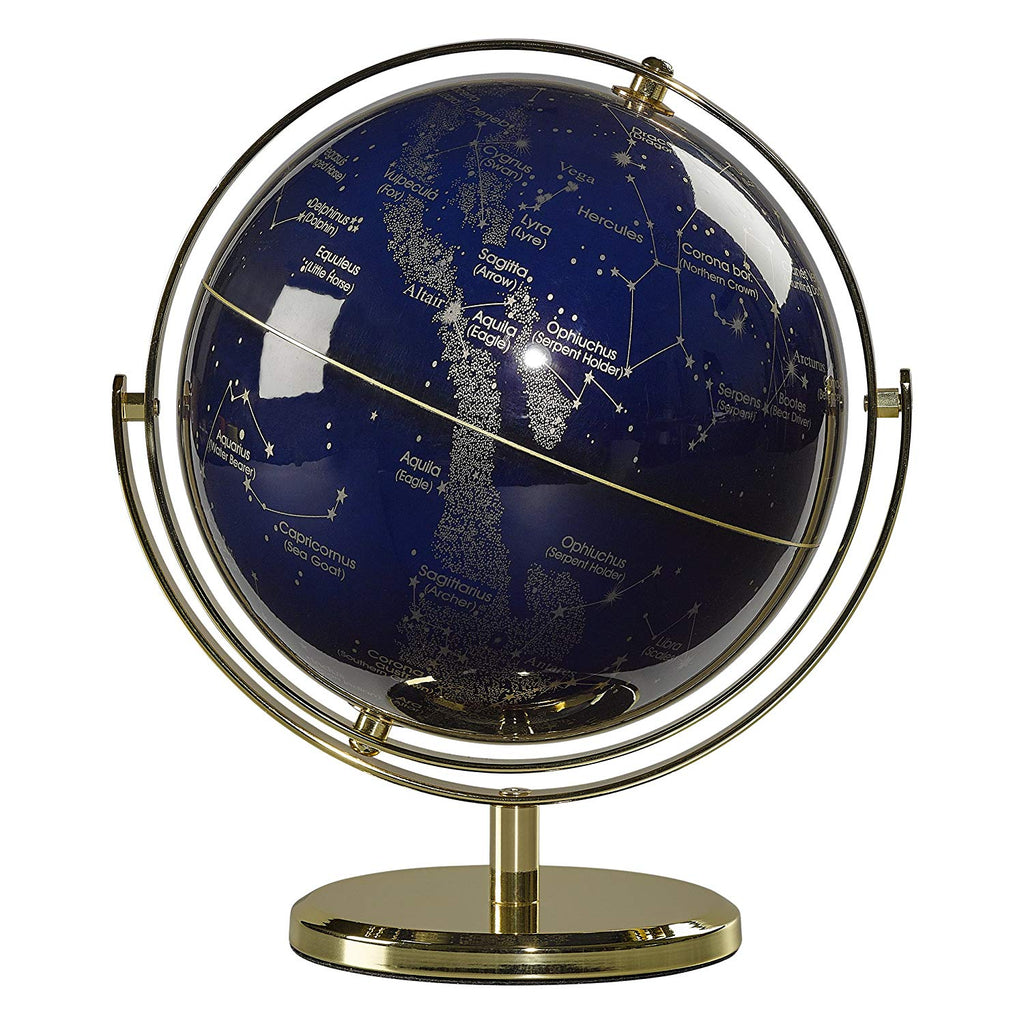 "Wild & Wolf Globe 8"" Swivel Stand - Night Sky"