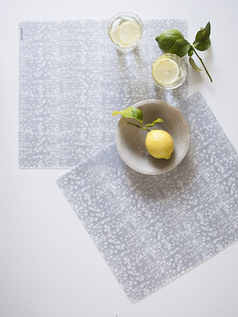 Modern-Twist Cocoon Silver Placemat