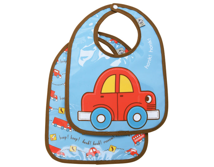 Oré Originals SugarBooger Vroom! Mini Bib Gift Set (Set of 2)