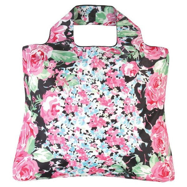 Envirosax Garden Party Bag - Roses & Pansies