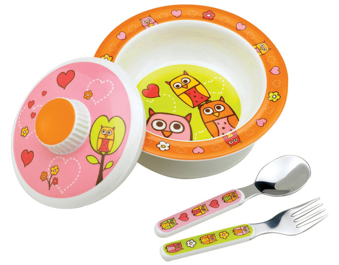 Oré Originals SugarBooger Hoot! Covered Suction Bowl  Gift Set