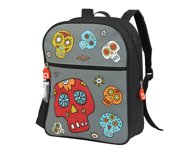 Oré Originals SugarBooger Dia de los Muertos Zippee! Back Pack