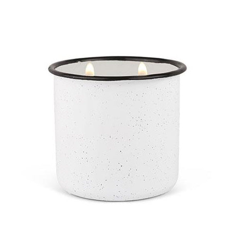 Paddywax Alpine Candle - White Woods & Mint
