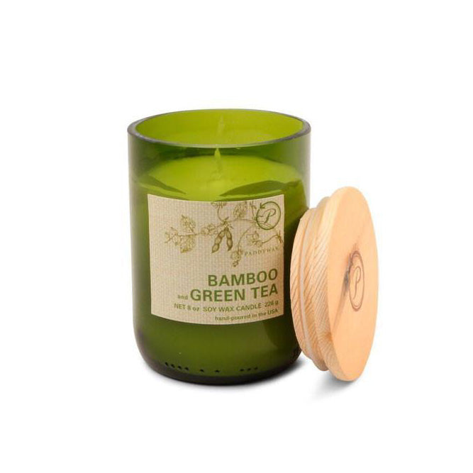 Eco Candle - Bamboo & Green Tea