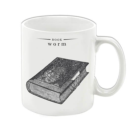 Gift Republic Victoriana - Book Worm Mug