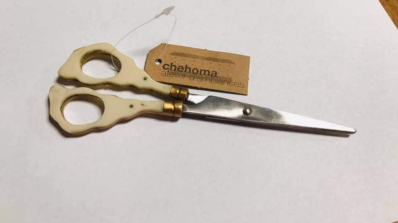 Chehoma Scissor w/ Clear & Copper
