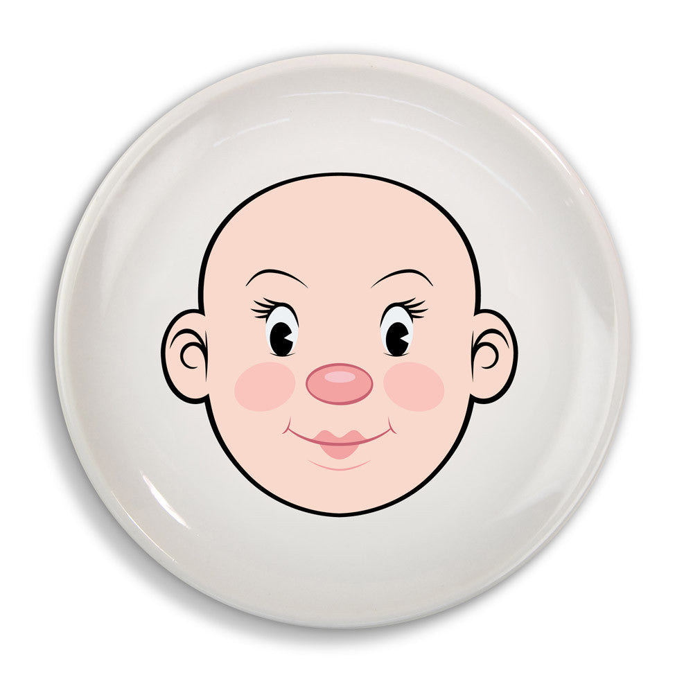 Fred & Friends Ms Food Face Dinner Plate