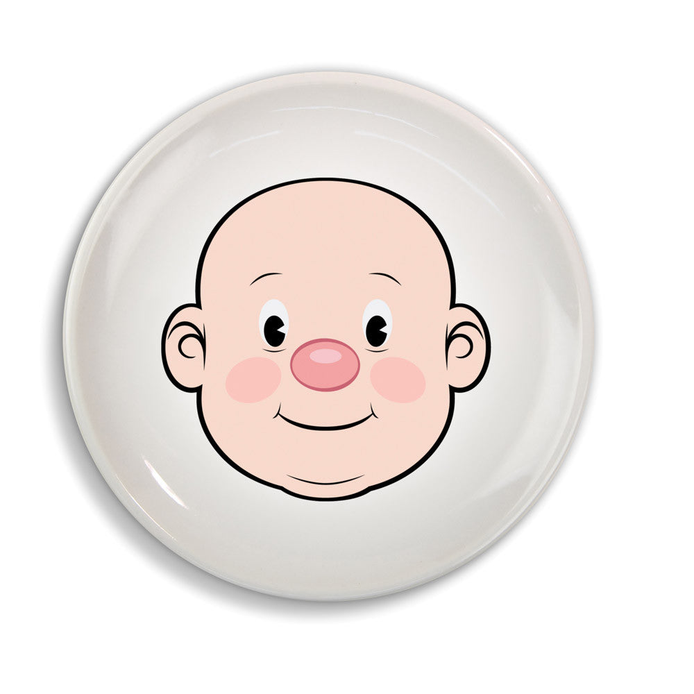 Fred & Friends Food Face Dinner Plate