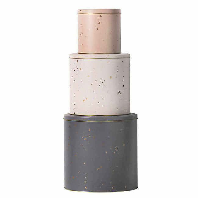 Ferm Living Tin Boxes - Confetti (Set of 3)