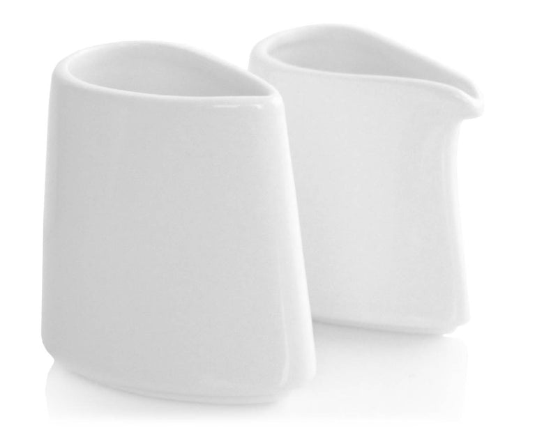 Tea Forte Suger & Creamer Set of 2 - Bone White