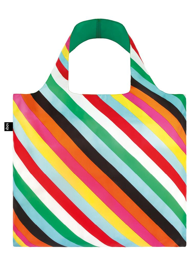LOQI POP Stripes Bag