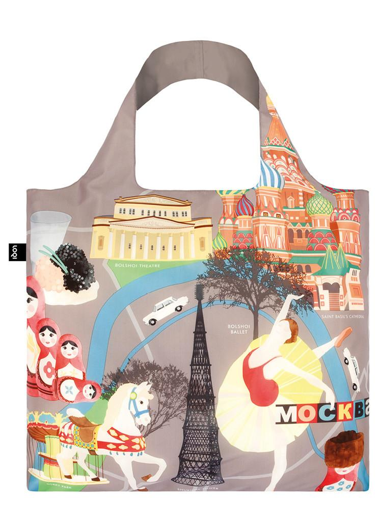 LOQI URBAN Moscow Bag