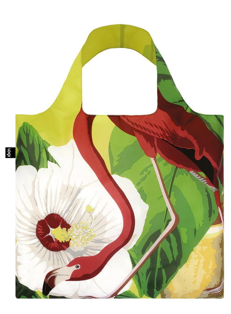 LOQI BOTANY Flamingo Bag