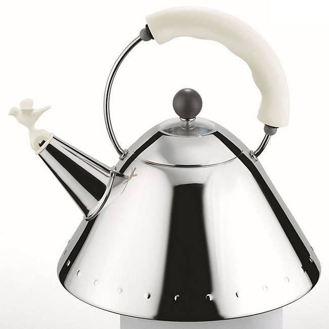 Alessi Michael Graves Kettle with Bird Whistle