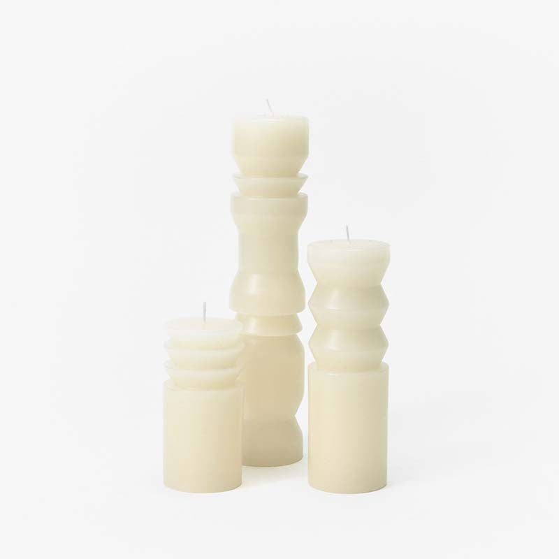 Areaware Totem Candles - White