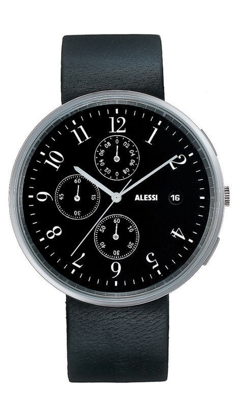 "Alessi ""Record"" Wrist Watch - Chronograph"