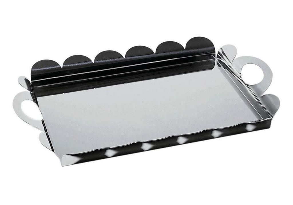 Alessi AM14 Rectangular tray with handles Recinto