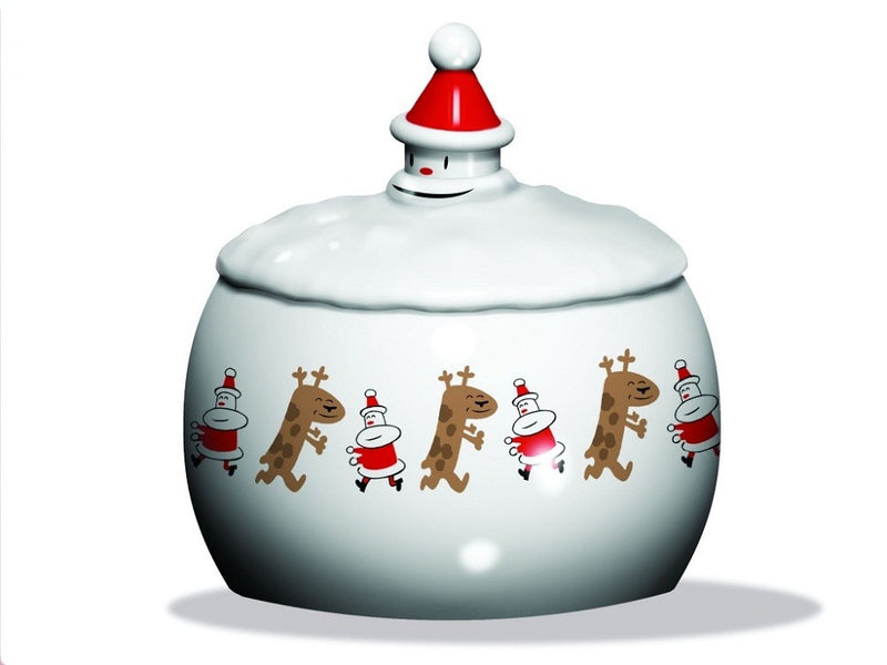"Alessi ""Let It Snow"" Biscuit Box"