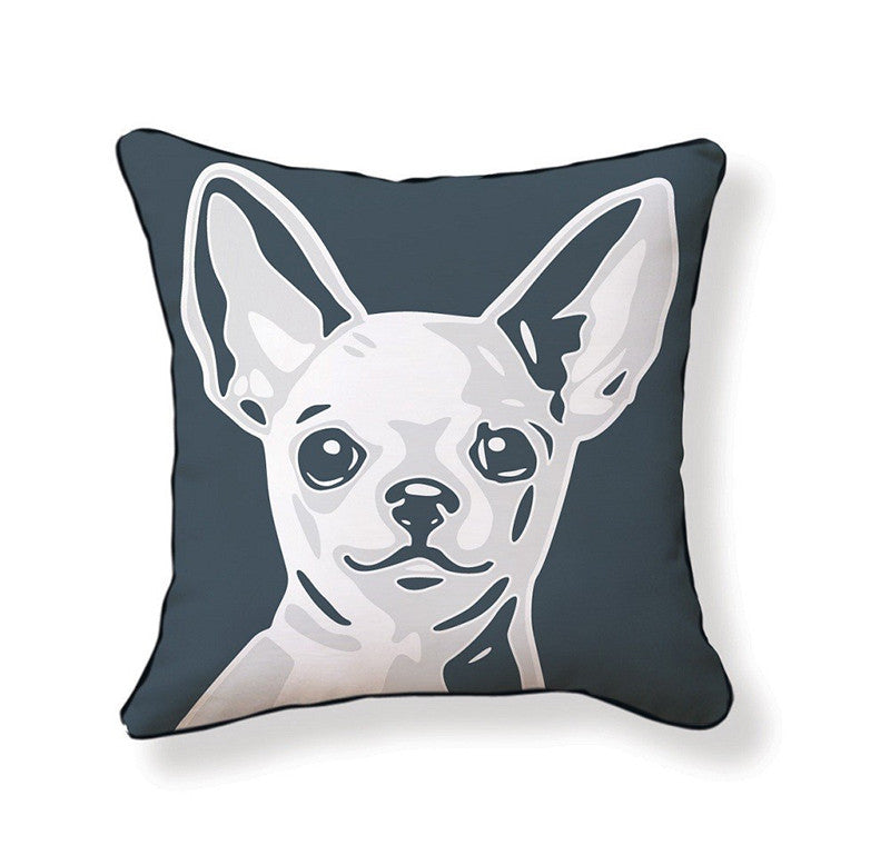 Naked Décor Chihuahua Pillow