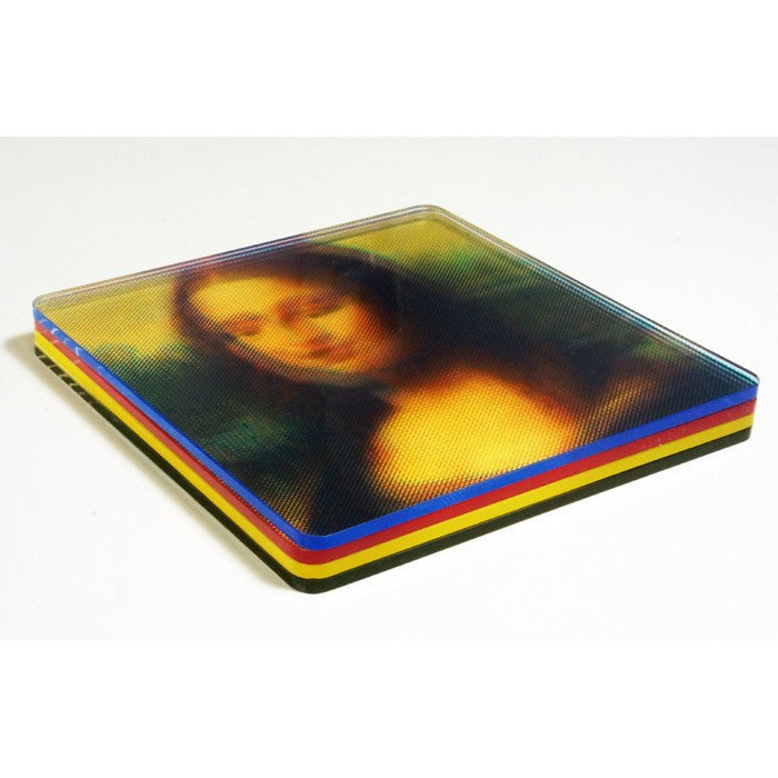 MollaSpace CMYK Color Printed Coasters