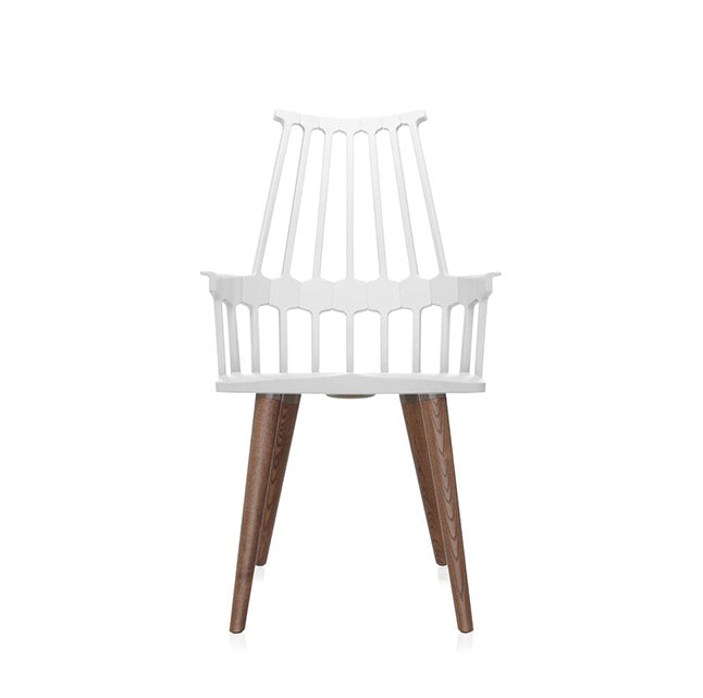 Kartell Comback Chair - Wood Legs