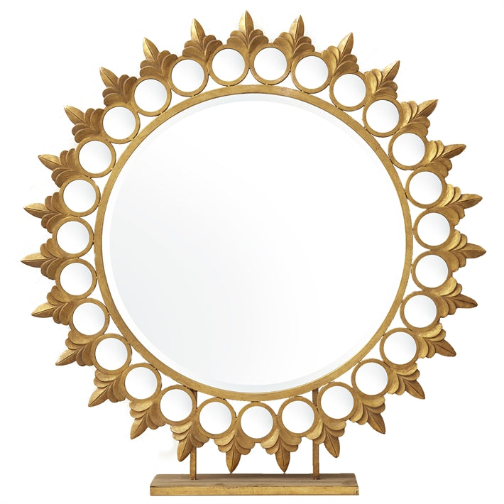 Tozai Home Sun Mirror on Pedestal