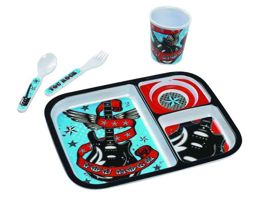 "Oré Originals SugarBooger ""YOU ROCK"" Boys Collection Tray Set"