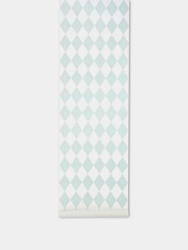 Ferm Living Harlequin Wallpaper