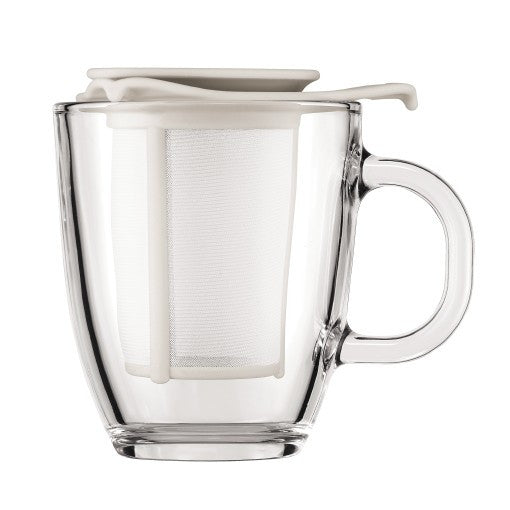 Bodum YO-YO SET, 12 OZ Mug and tea strainer