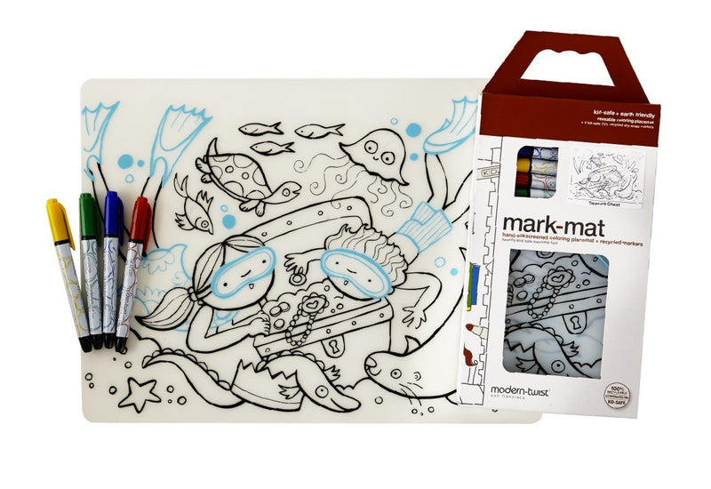 Modern-Twist Kidz Treasure Chest + Markers