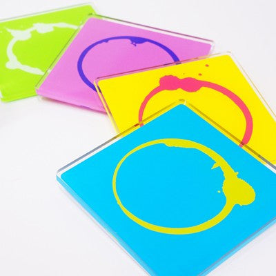MollaSpace Stained Coasters (Set of 4)