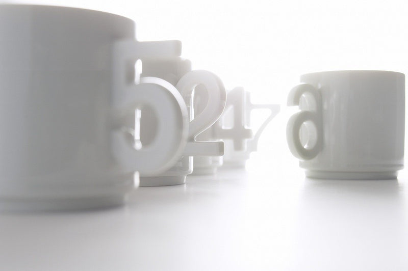 Plus D Number Cup Set