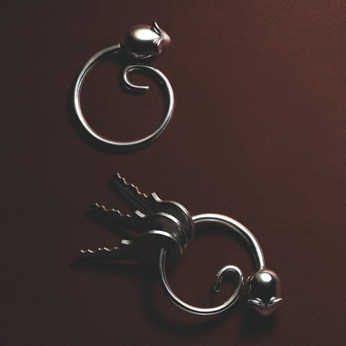 "Alessi ""Pip"" Key Ring"