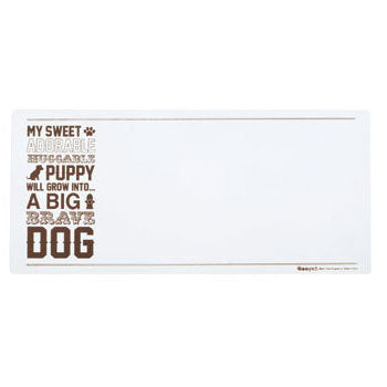 Oré Originals ORE' Pet Puppy Words Skinny Pet Placemat