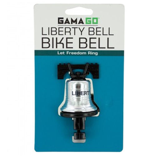 GamaGo LA1301 Liberty Bell Bike Bell | Bicycle and Cycling Handlebar Accessories