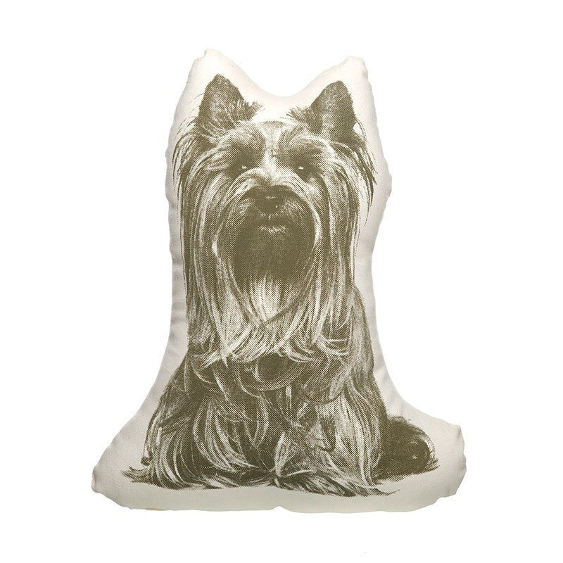 Areaware Yorkie Mini Cushion