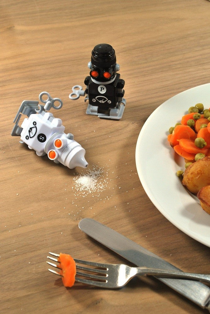 Suck UK Salt and Pepper 'Bots Set