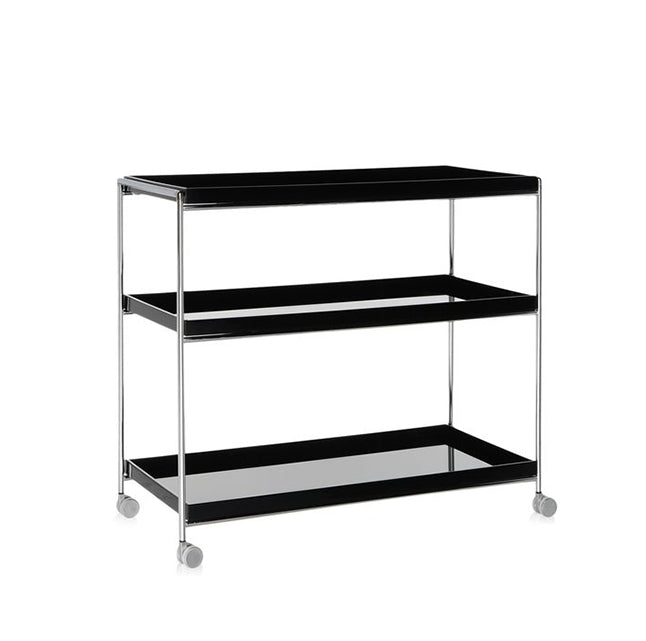 Kartell Trays Trolley- Small Rectangular