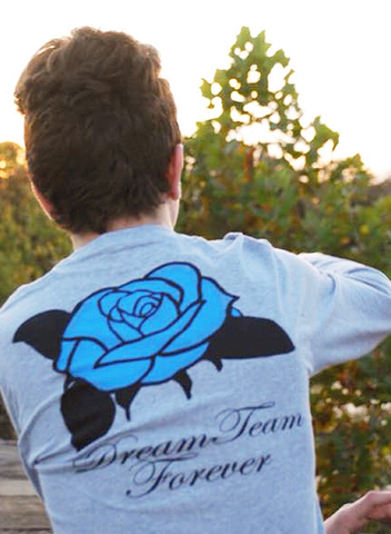 Blue Rose Long-Sleeve
