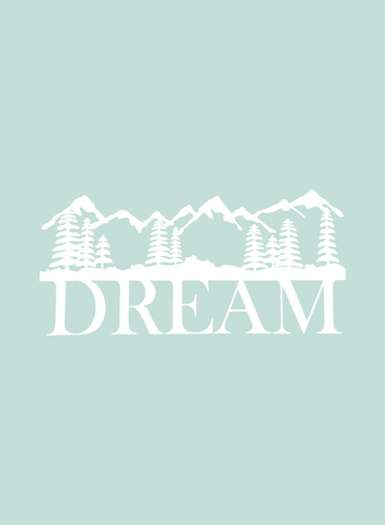 Dream Mountains - Small