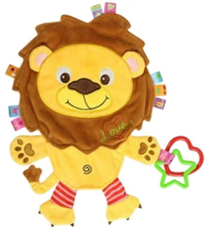 Lion Taggie Activity Blanket and Sensory Toy Baby Gifts for Newborns on Up