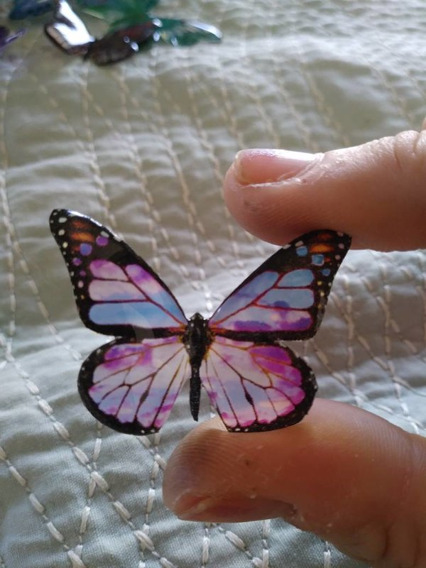 Small butterfly or dragonfly pendant