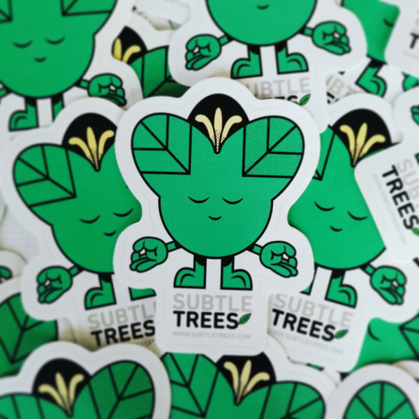 Subtle Trees Stickers! Collect all the characters!